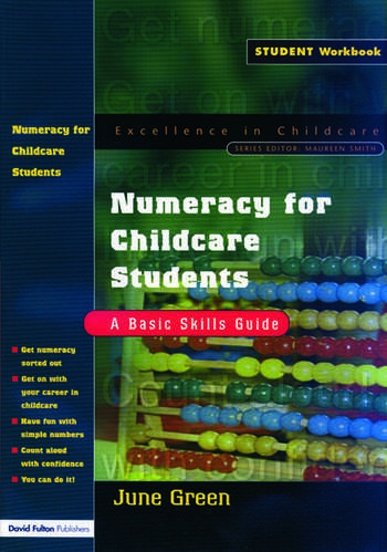 Numeracy for Childcare Students A Basic Skills Guide book cover