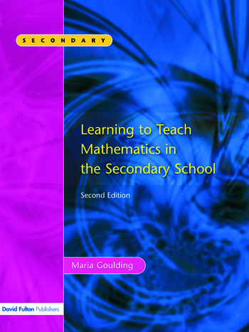 Learning to Teach Mathematics, Second Edition book cover