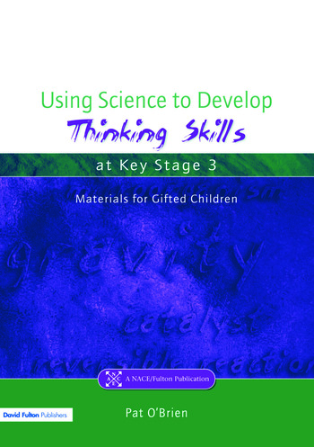 Using Science to Develop Thinking Skills at Key Stage 3 book cover