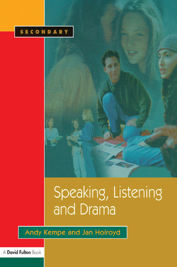 Speaking, Listening and Drama book cover