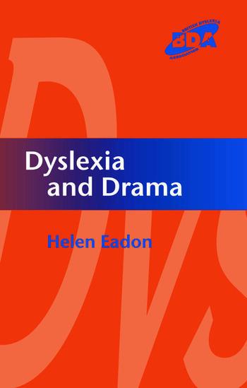 Dyslexia and Drama book cover