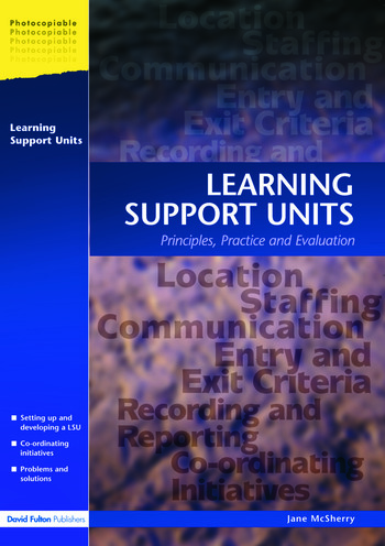 Learning Support Units Principles, Practice and Evaluation book cover