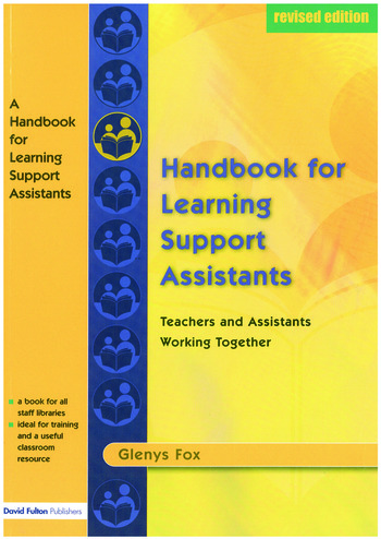 A Handbook for Learning Support Assistants Teachers and Assistants Working Together book cover