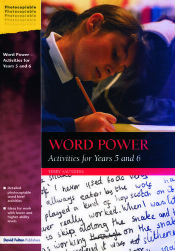 Word Power Activities for Years 5 and 6 book cover