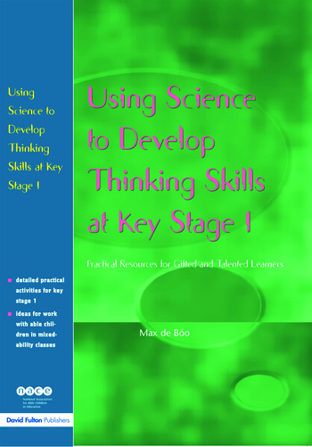 Using Science to Develop Thinking Skills at KS1 book cover
