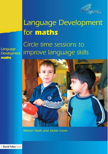 Language Development for Maths Circle Time Sessions to Improve Communication Skills in Maths book cover