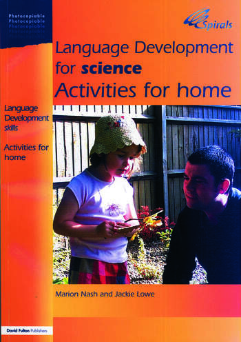 Language Development for Science Activities for Home book cover