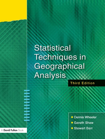 Statistical Techniques in Geographical Analysis book cover