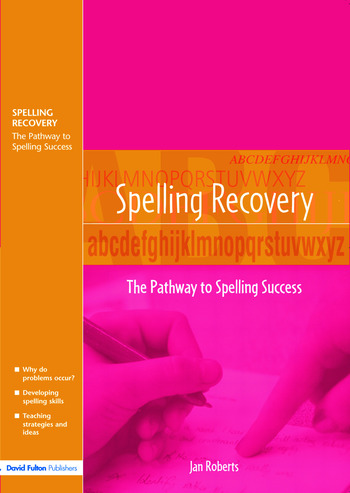 Spelling Recovery The Pathway to Spelling Success book cover