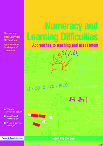 Numeracy and Learning Difficulties Approaches to Teaching and Assessment book cover