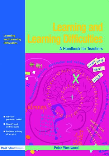 Learning and Learning Difficulties Approaches to teaching and assessment book cover