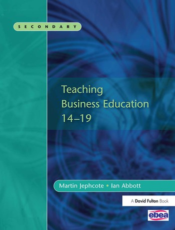 Teaching Business Education 14-19 book cover