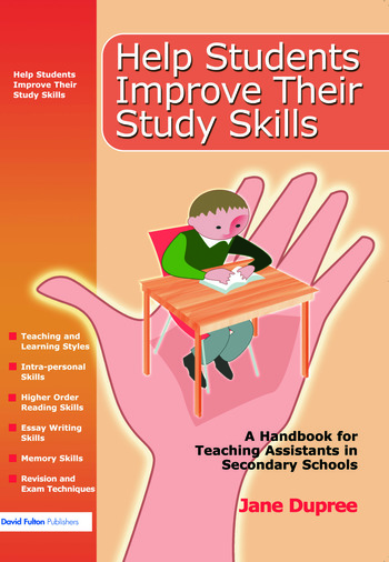Help Students Improve Their Study Skills A Handbook for Teaching Assistants in Secondary Schools book cover