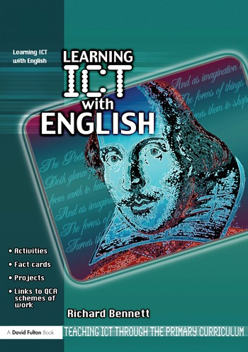 Learning ICT with English book cover