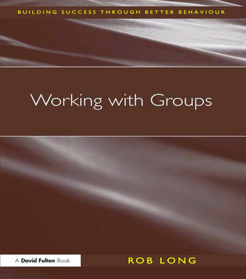 Working with Groups book cover
