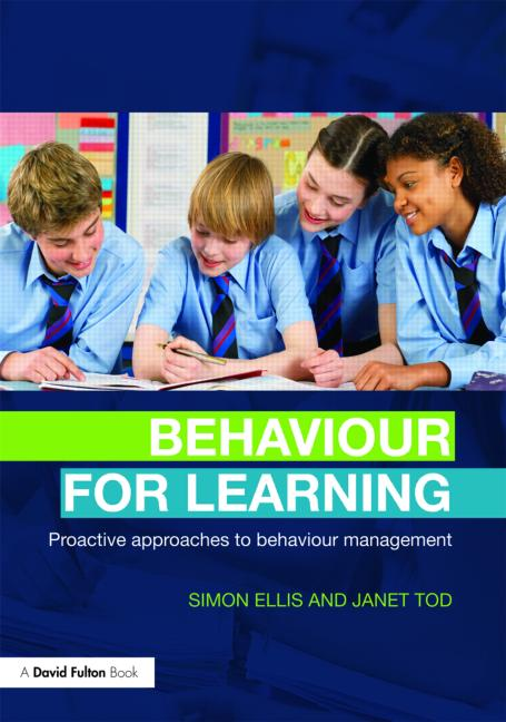 Behaviour for Learning Proactive Approaches to Behaviour Management book cover