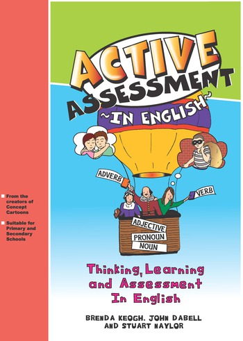Active Assessment in English Thinking Learning and Assessment In English book cover