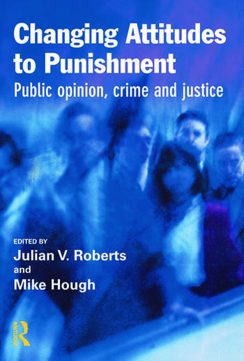 Changing Attitudes to Punishment book cover