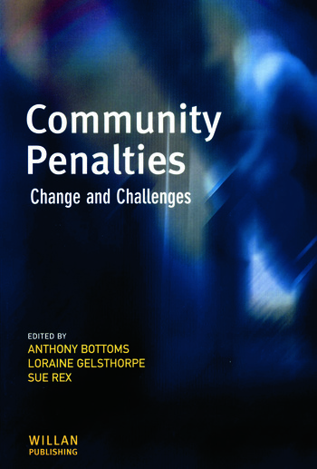 Community Penalties book cover