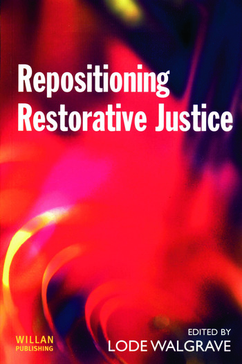 Repositioning Restorative Justice book cover