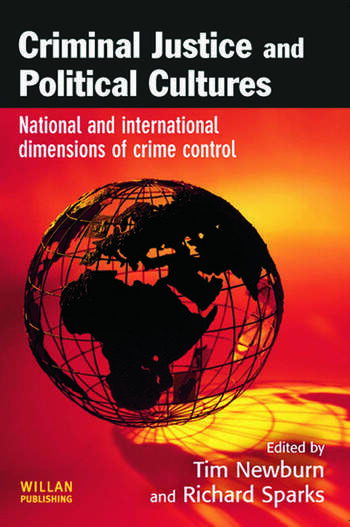 Criminal Justice and Political Cultures book cover