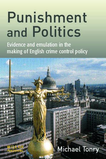 Punishment and Politics book cover