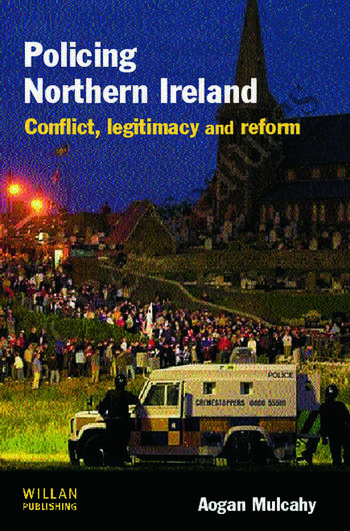 Policing Northern Ireland book cover