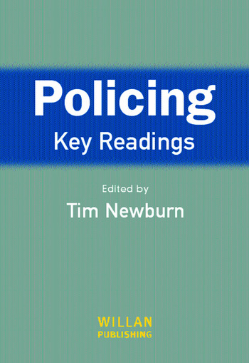 Policing: Key Readings book cover