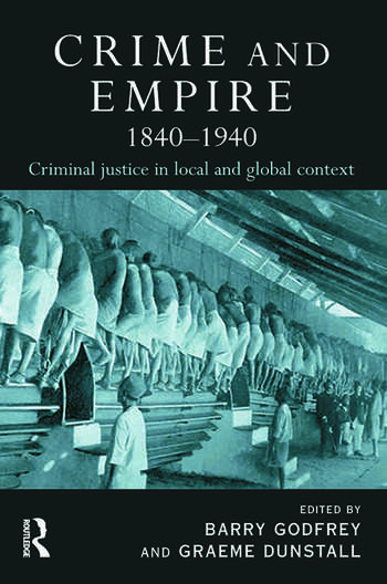 Crime and Empire 1840 - 1940 book cover
