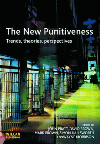 The New Punitiveness book cover