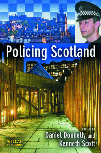 Policing Scotland book cover