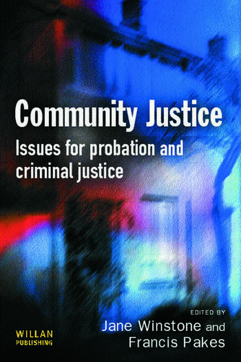 Community Justice book cover