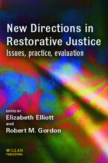 New Directions in Restorative Justice book cover
