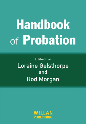 Handbook of Probation book cover