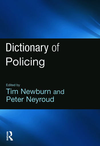 Dictionary of Policing book cover