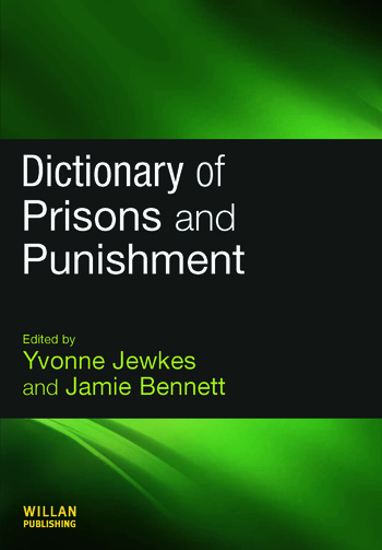 Dictionary of Prisons and Punishment book cover