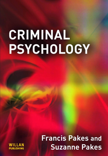Criminal Psychology book cover