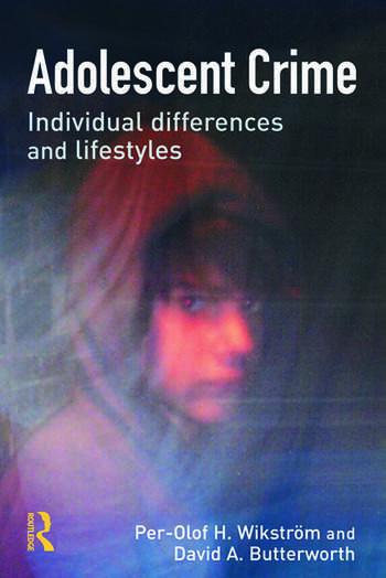 Adolescent Crime book cover