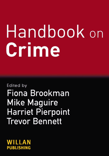 Handbook on Crime book cover