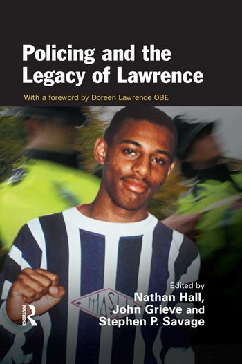Policing and the Legacy of Lawrence book cover