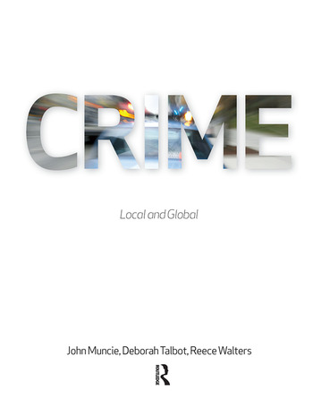 Crime Local and Global book cover