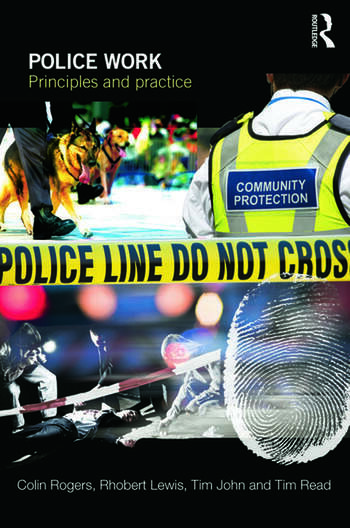 Police Work Principles and Practice book cover