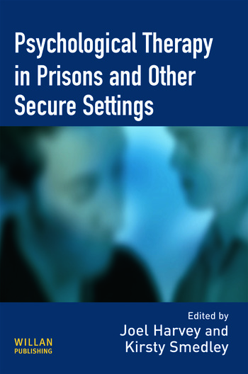 Psychological Therapy in Prisons and Other Settings book cover