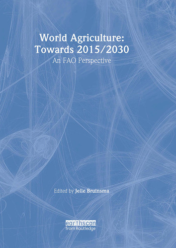 World Agriculture: Towards 2015/2030 An FAO Study book cover