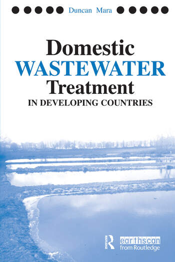 Domestic Wastewater Treatment in Developing Countries book cover