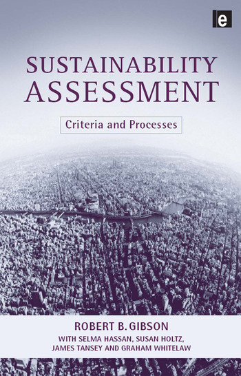Sustainability Assessment Criteria and Processes book cover