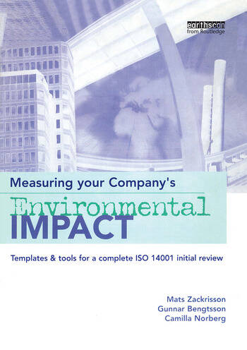 Measuring Your Company's Environmental Impact Templates and Tools for a Complete ISO 14001 Initial Review book cover