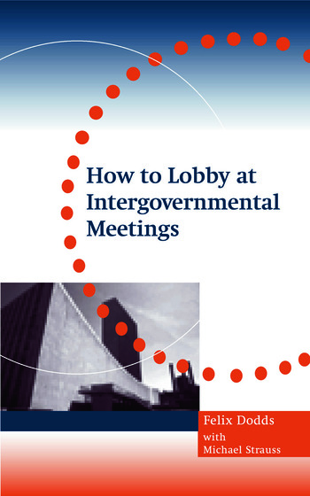 How to Lobby at Intergovernmental Meetings book cover