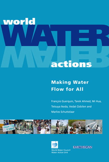 World Water Actions Making Water Flow for All book cover