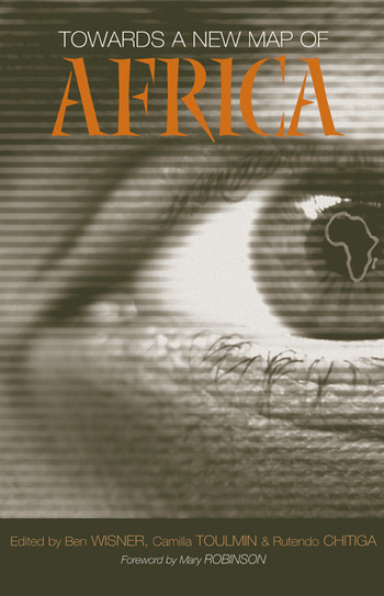 Towards a New Map of Africa book cover